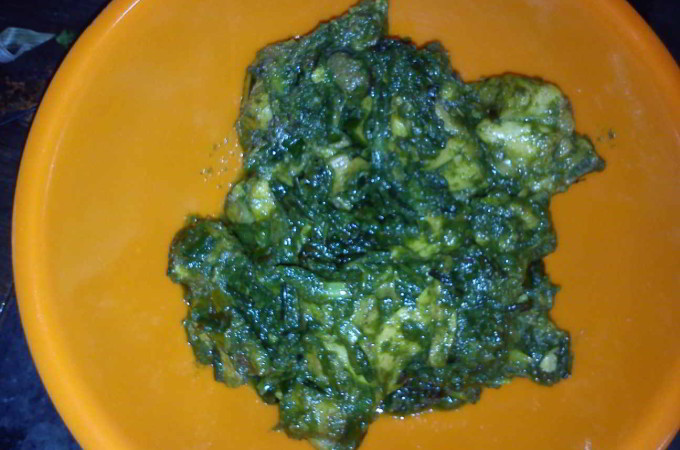 Hara Bhara Murg (green Chicken)
