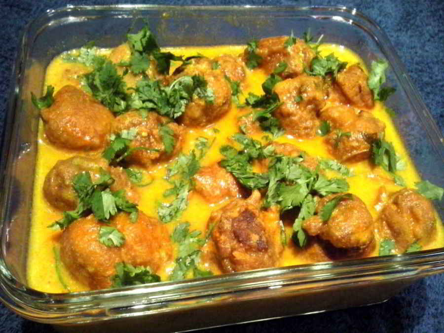 Mangochi Curry (Moong dal Kofta Curry)