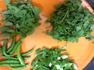 Hara Bhara Murg Ingredients