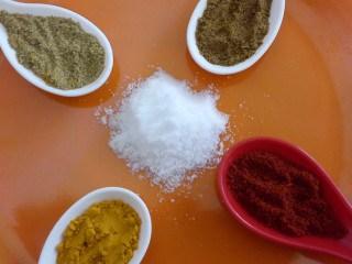 Spices for Hara Bhara Murgh