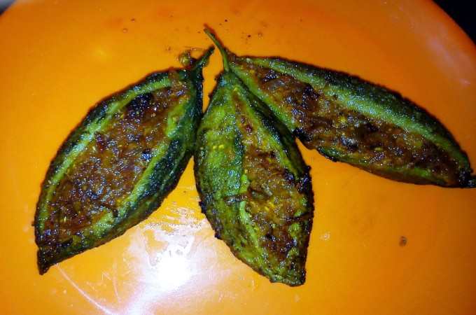Bharwan Karela Recipe, How to make Stuffed Karela or Stuffed Bittergourd
