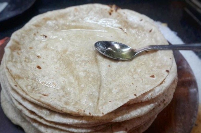 How to make Roti (Homemade Indian Flatbread)