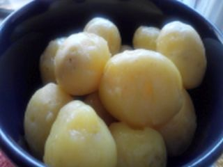 how to make firm boiled potatoes