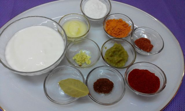Spices for Baingan Korma