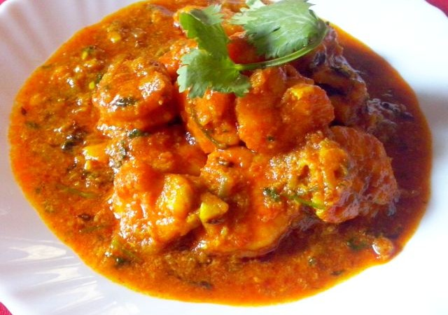 MASALA PRAWN CURRY- How To Make Masala Prawn Curry