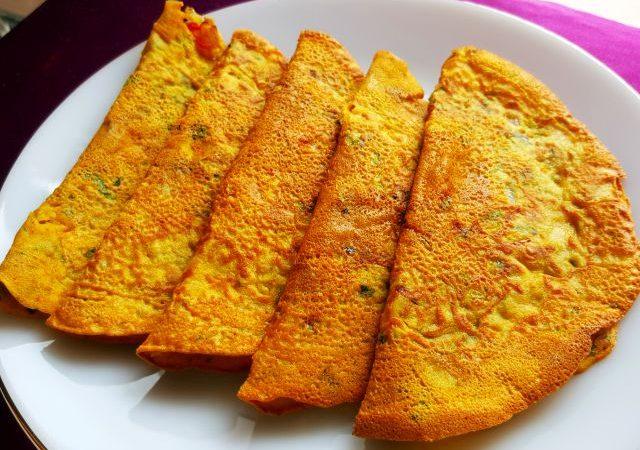Cheela  How to make Besan ka Cheela or Chilla