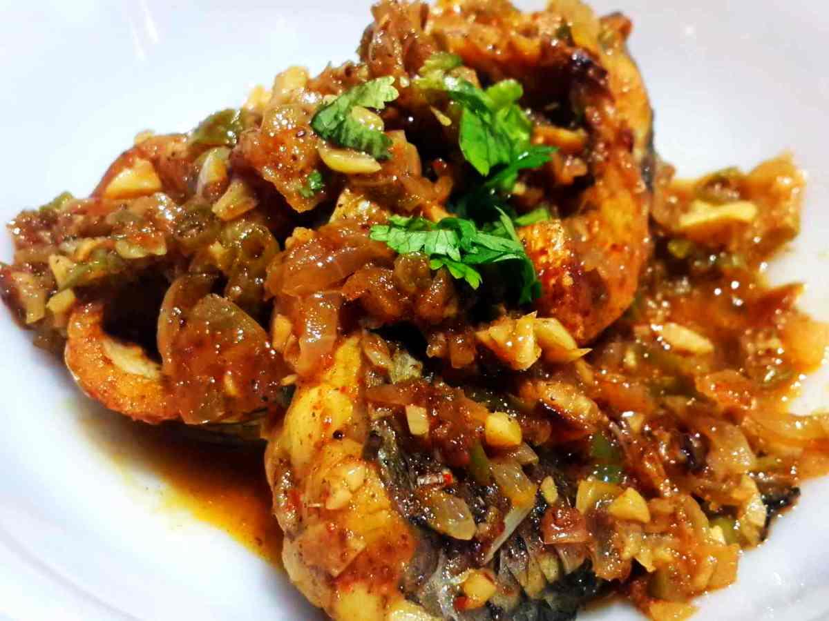 Methi Fish Curry
