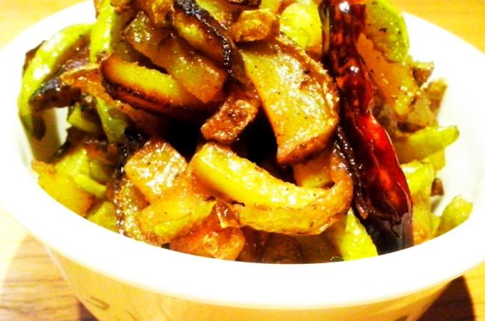 Lauki Chilka Delight – Lauki Ke Chilke Ki Bhaji