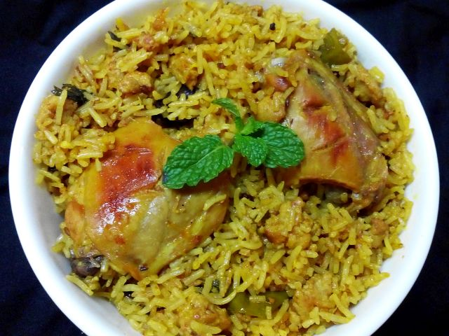 Chicken & Keema Pulao