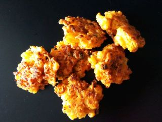 Gobi ke Pakode or Cauliflower Fritters