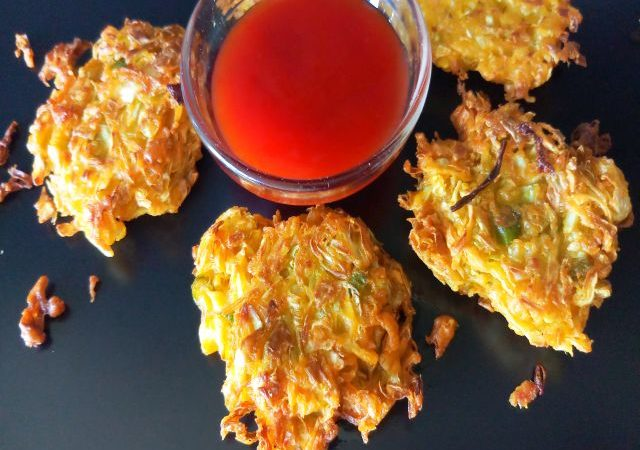 Cabbage Fritters/ Pakora